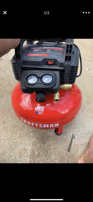 CRAFTSMAN PANCAKE AIR COMPRESSOR for Sale in Stone Mountain, GA