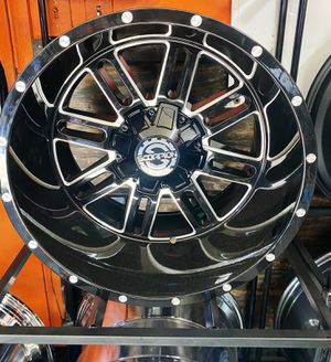 22x12 RIMS AND TIRES for Sale in Phoenix, AZ
