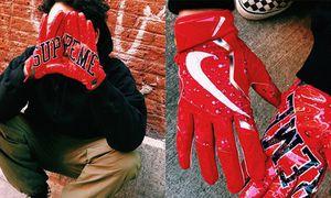 Supreme Nike Vapor Jet 4.0 Football Gloves for Sale in Annandale, VA