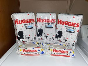 Huggies Size 3 Bundle- Price Is FIRM for Sale in Gilbert, AZ