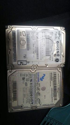 2 40 gig ide lap top hard drives for Sale in Salt Lake City, UT