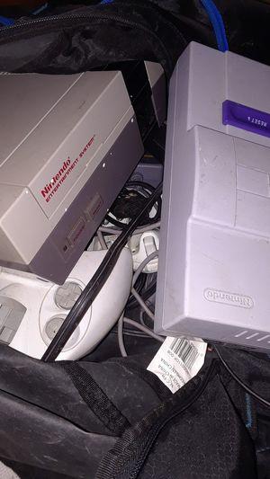 super Nintendo, Nintendo , ps1 and more for Sale in Wichita, KS