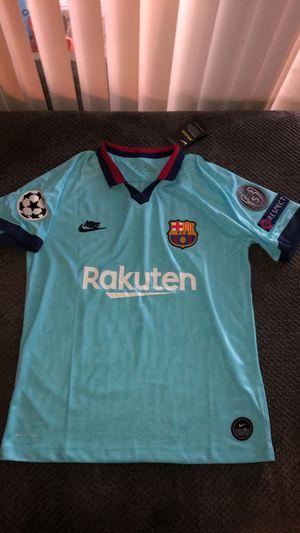 Barcelona Soccer Jersey for Sale in Houston, TX