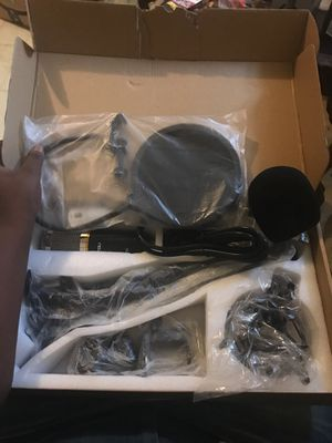 BRAND NEW CONDENSER MIC SET RETAIL PRICE 98.00 for Sale in undefined