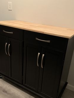 Brand new, in box kitchen cart with plenty of storage! for Sale in Brooklyn,  NY