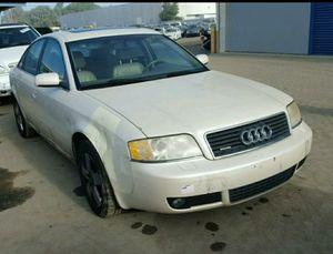 2002 White AUDI A6 2.7T QUATTRO PARTING OUT!!! for Sale in Rancho Cordova, CA