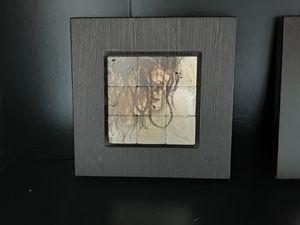 "Frame mosaic Jesus Profile Stone printed 10x10,"" for Sale in Hialeah, FL"
