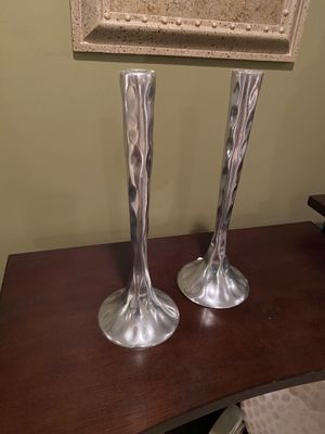 Silver candlesticks for Sale in Bay City, MI