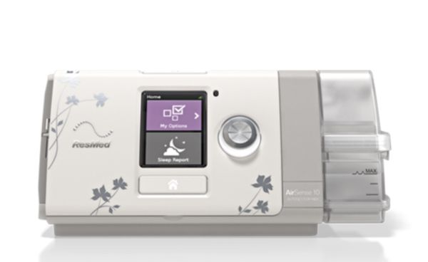 Resmed CPAP airsense10 for Her. Comes with carrying case. You meed to get your own hose and face mask.