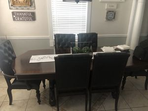 6 chair dining table mint condition! for Sale in Frostproof, FL