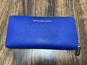 Wallet - Michael Kors - Royal Blue for Sale in Chevy Chase, MD