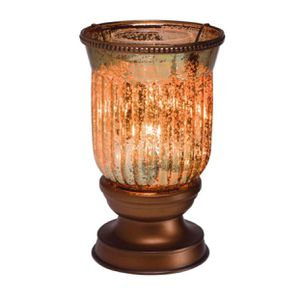 NEW IN BOX——> Scentsy AMBER FLUTED SHADE WARMER for Sale in Denver, CO