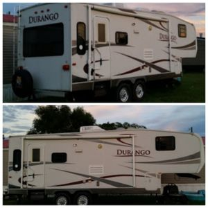 2007 Durango fifthwheel great condition message for details serious inquiries only for Sale in Carencro, LA