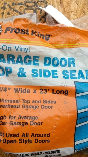 Garage door top and side seal for Sale in Middleburg Heights, OH