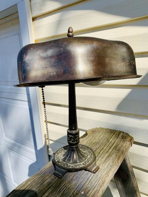 Stunning Antique Lead Desk Lamp for Sale in Willoughby, OH