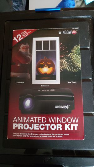 Window FX animated projector kit for Sale in Vancouver, WA
