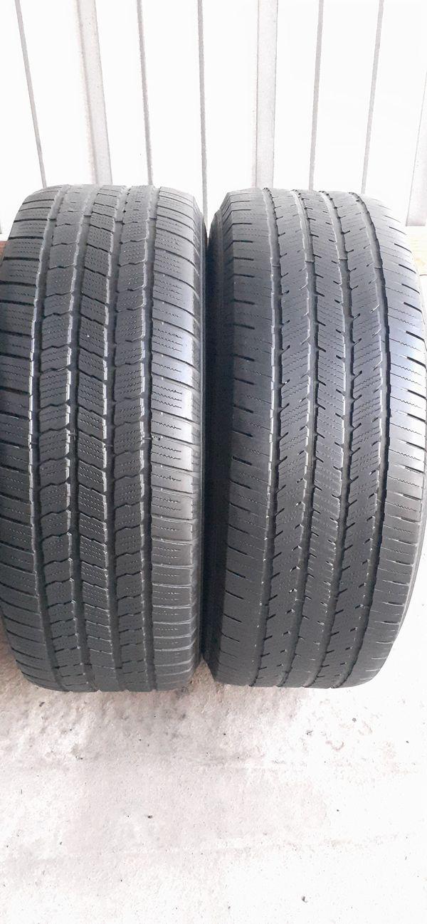 2 tires 275 55 20 Michelin