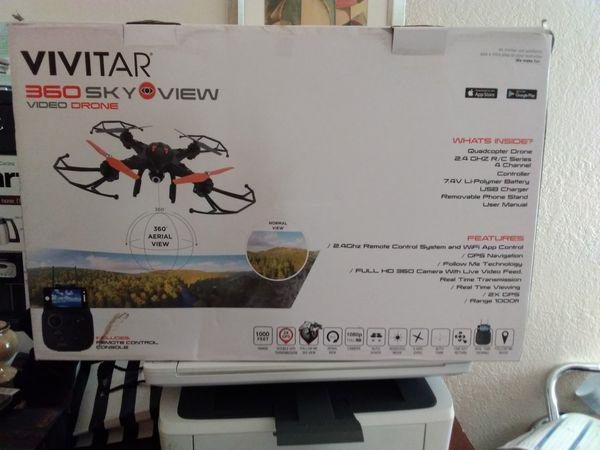 Vivitar 360 Sky View GPS Video Drone
