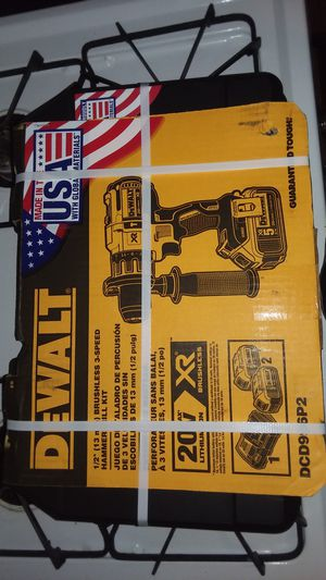 DeWalt 20 volt brushless XR 3-speed hammer drill kit for Sale in St. Louis, MO