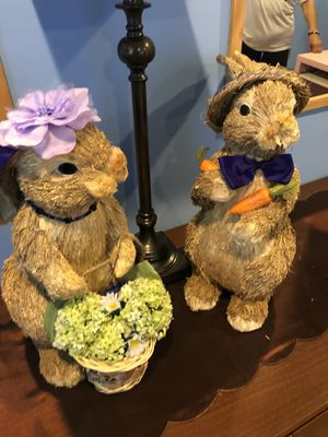 Easter Bunnies Set of 2 for Sale in Fairfax, VA