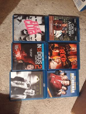 30 Blu Ray movies all in like new condition for Sale in Surfside, FL