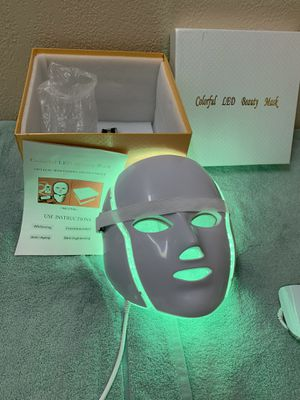 Led beauty mask for Sale in Fort Worth, TX