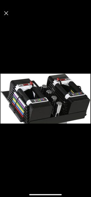 PowerBlock Personal Trainer Set, 5 to 50 Pounds per Dumbbell for Sale in Rancho Cucamonga, CA