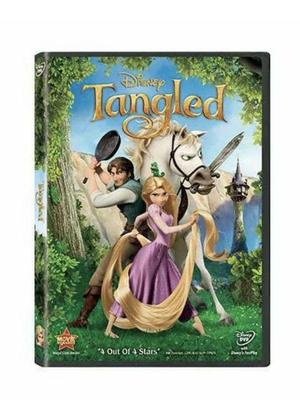 Disney's Tangled (2011) DVD