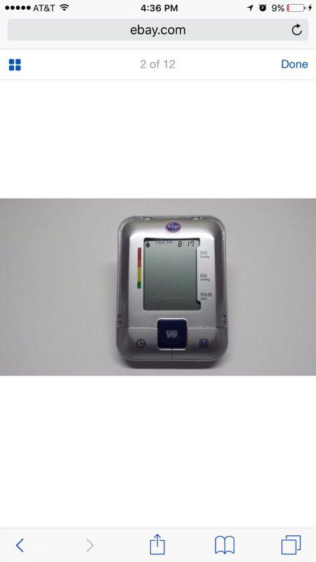 Automatic blood pressure/pulse--arm