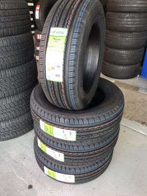 225/65/17 New set of tires installed for Sale in Rancho Cucamonga, CA