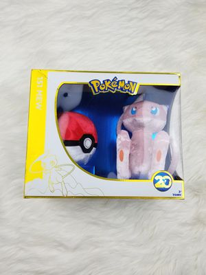 New Pokemon 20th Anniversary Mew Collectible for Sale in Pittsfield, MA