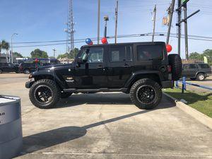 2015 Jeep Wrangler Sahara Unlimited for Sale in Baton Rouge, LA