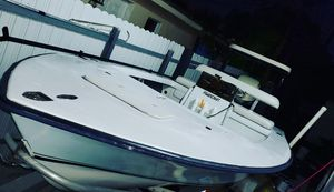 18ft flats boat with 115 johnson ,trailer for Sale in Hialeah, FL