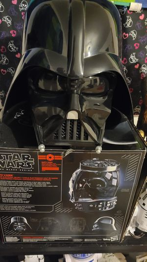 Disney/Hasbro darthvader helmet for Sale in San Marcos, TX