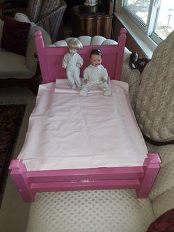 Hot Pink Doll Crib for Sale in La Mirada,  CA