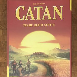 Settlers of Catan (New) 4-player strategy board game for Sale in Boston, MA