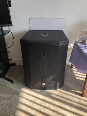 Jbl prx 618 powered 1000W subwoofer for Sale in Alexandria, VA