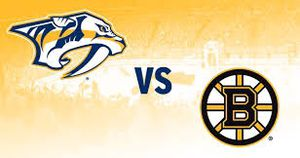 Nashville Predators vs Boston Bruins for Sale in Nashville, TN