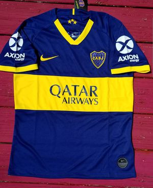Brand new soccer Jersey sz small boca juniors Jersey for Sale in Stone Mountain, GA