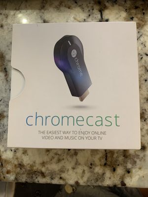 Google Chromecast HDMI Streaming Media Player H2G2-42 for Sale in Plano, TX