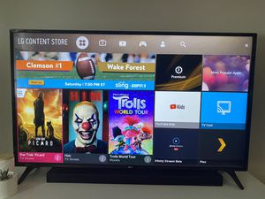 LG HDTV 55in SMART TV for Sale in Baltimore, MD