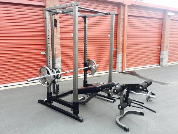 Parabody Squat Rack Bench Press Fittness Amp Gym Equipment