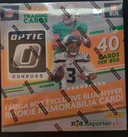 2020 Panini Donruss Optic Football MEGA BOX Blue Hyper New In Hand! for Sale in Atlanta,  GA