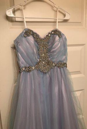 Purple and Baby Blue Prom Dress (size 11) for Sale for sale  Stockbridge, GA