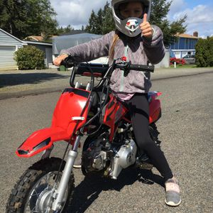New Kids Pit bike SSR Dirt bike Pit Bike Suitable Ages 4 And Up for Sale in University Place, WA