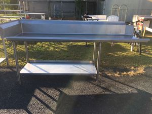 Stainless Steel Left Side Dishwasher Table for Sale in Dillsburg, PA