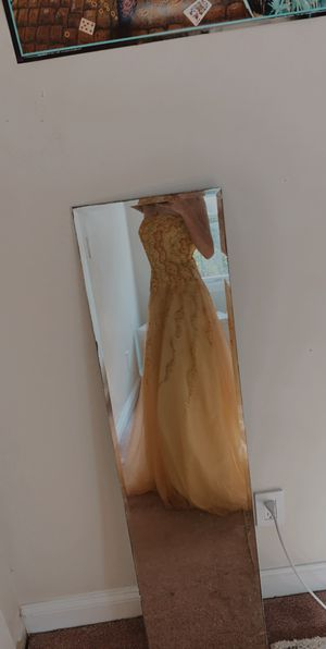 Yellow prom/ball dress for Sale in Barnstable, MA