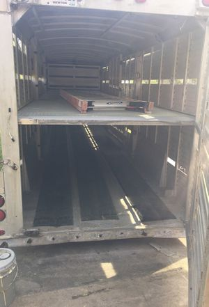 Gooseneck trailer for animals. for Sale in Conyers, GA