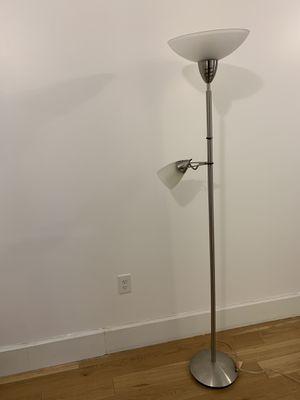 2 light FLOOR LAMP for Sale in Jersey City, NJ
