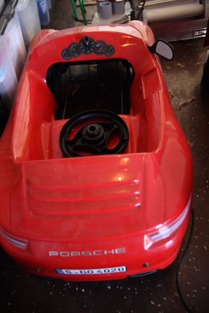 Porsche brand kids toy car for Sale in Las Vegas, NV